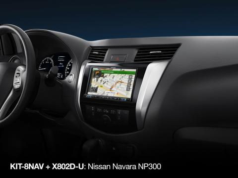 Nissan-Navara-NP300-KIT-8NAV-DX-and-Navi-X802D-U