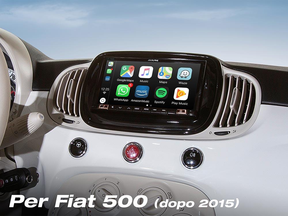 Shark Antenna Per Alfa Romeo Mito Gulietta FIAT 500 ABARTH 500 ANTENNA TETTO attivo