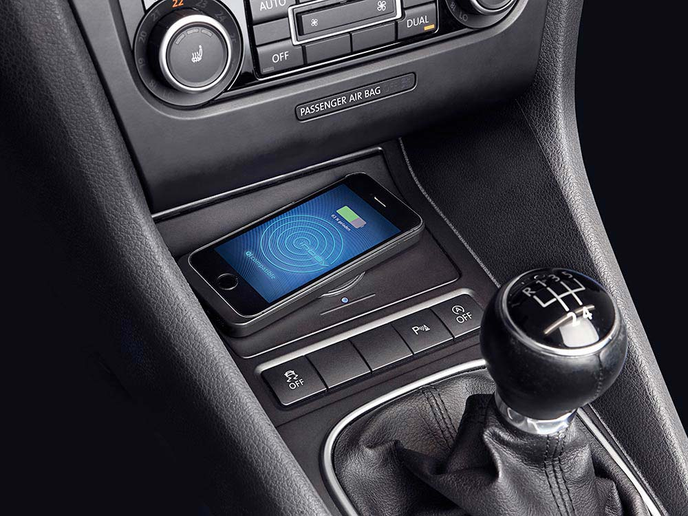 Console Di Ricarica Wireless Per Volkswagen Golf 6