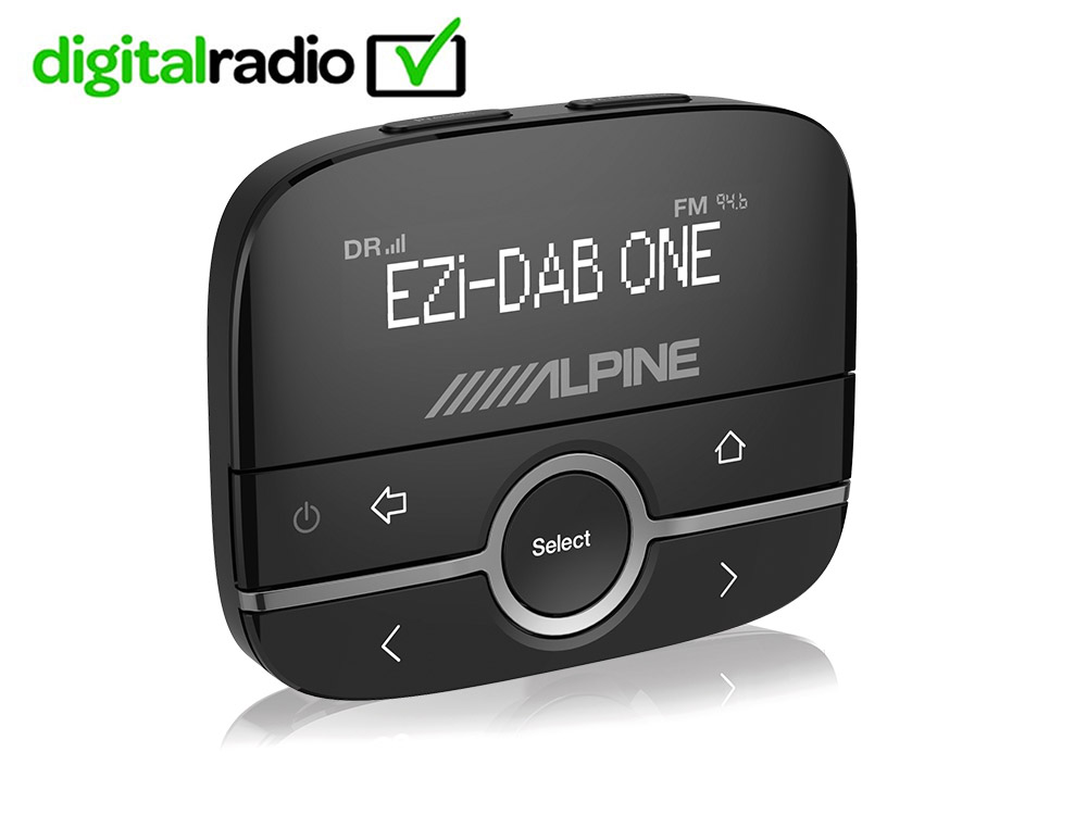 interfaccia per digital radio dab dab tramite aux in. Black Bedroom Furniture Sets. Home Design Ideas