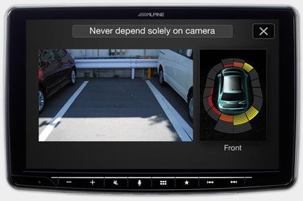 iLX-F903D - Telecamere Drive-Assist