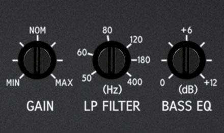 S-A60M_Mono-Amplifier-High_Low-Pass-Filt