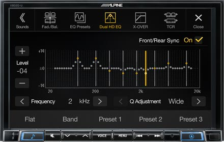 High-end Sound Tuning Options - X802DC-U