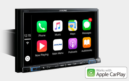 Works with Apple CarPlay - X802DC-U