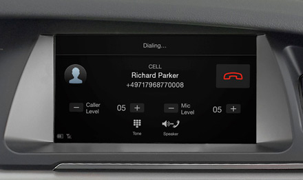 Audi A4 - Built-in Bluetooth® Technology - X702D-A4
