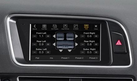 Audi Q5 - X702D-Q5: Premium Sound Quality
