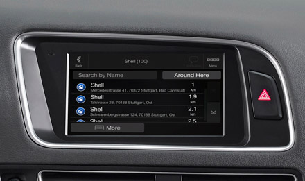 Golf 6 - Navigation - Points of Interest  - X703D-Q5