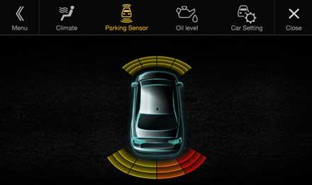 Audi A4 - X701D-A4: Driver Assistance - Parking Sensor