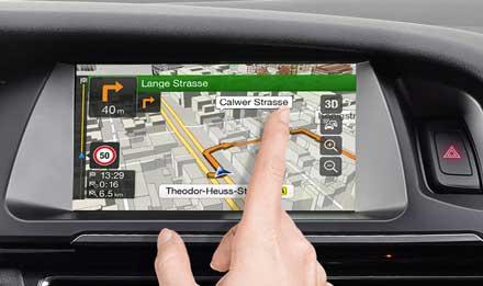 Audi A4 - X701D-A4: Touch Screen ad alta risoluzione