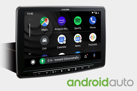INE-F904DU - Works with Android Auto