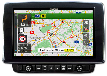 Ducato, Jumper and Boxer - Navigation - Plan Your Route  - X903D-DU