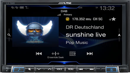 DAB+ Digital Radio - ILX-702-500X