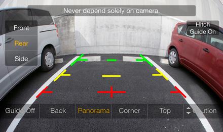 Fiat 500 - Rear View Camera - ILX-702-500X