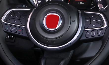 Fiat 500 Controllo Tramite i Comandi al Volante ILX-702-500X