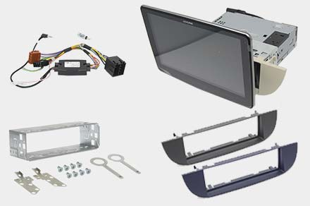 iLX-F903-312 - 1DIN installation kit included