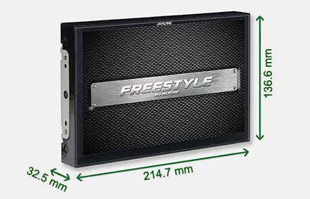 Freestyle solution for custom installs - Navigation System X903D-F