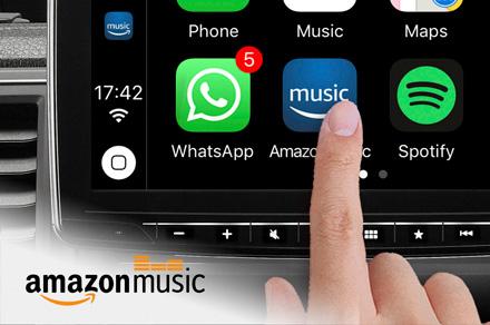 Alpine iLX-F903-i30 - Amazon Music