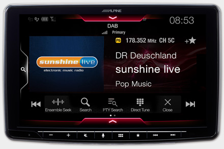 iLX-F903-i30 - Built-in DAB+ Digital Radio