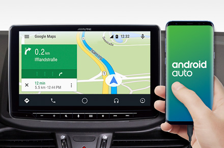 iLX-F903-i30 - Online Navigation with Android Auto