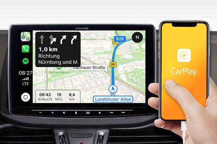 iLX-F903-i30 - Online Navigation with Apple CarPlay