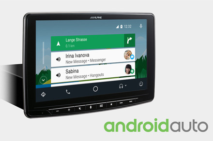 iLX-F903-i30 - Works with Android Auto