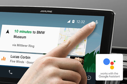 Alpine iLX-F903-i30 - Works with the Google Assistant
