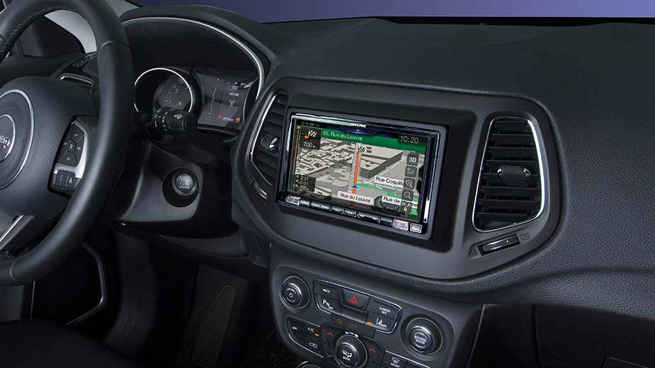 Integrated Navigation in your Jeep Compass - INE-W720JC