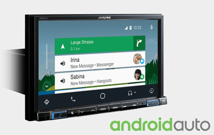 Works with Android Auto - X802D-RN