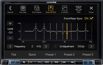 High-end Sound Tuning Options - X803D-RN