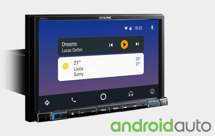 Works with Android Auto - X803D-RN
