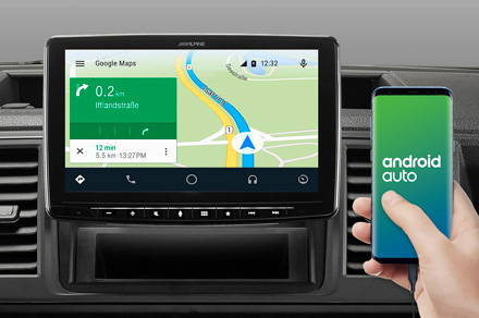 iLX-F903JC - Online Navigation with Android Auto