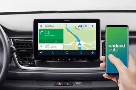 ILX-F903-RI4ST - Online Navigation with Android Auto