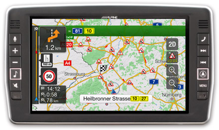 Mercedes Sprinter - Navigation - Plan Your Route  - X902D-S906