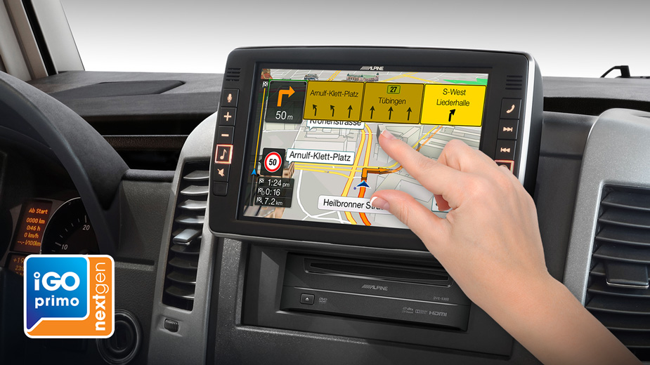Alpine Style Navigation Designed for Mercedes Sprinter - X903D-S906