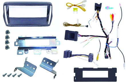 INE-F904-208 - 1DIN installation kit included