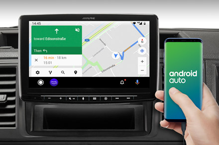 INE-F904-208 - Online Navigation with Android Auto