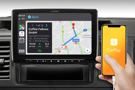 INE-F904-208 - Online Navigation with Apple CarPlay
