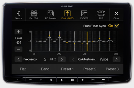 iLX-F903-208 - High-end Sound Tuning Options