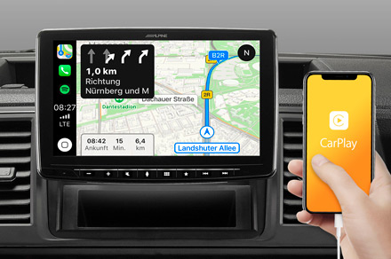 iLX-F903-208 - Online Navigation with Apple CarPlay