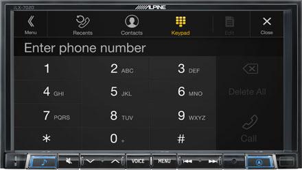 Smart 453 - Tecnologia Bluetooth® Technology - iLX-702SM-B