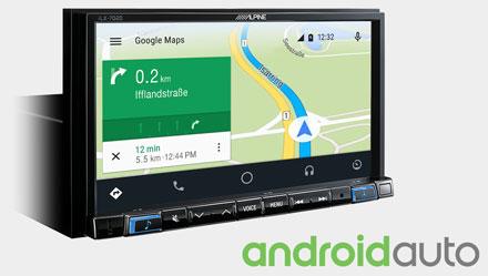 Navigazione Online con Android Auto - iLX-702SM-W