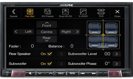 Smart 453 - Fader e Balance - iLX-702SM-W