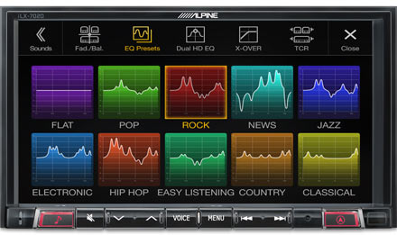 Smart 453 - Sound Pre-sets  - iLX-702SM-W