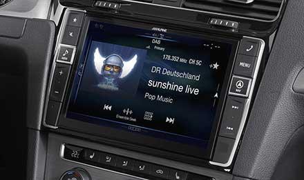 Golf 7 - DAB Digital Radio - X901D-G7