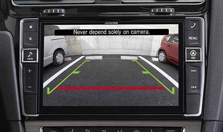 Golf 7 - Rear View Camera - X901D-G7
