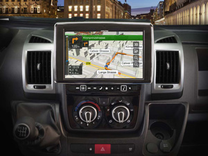 Alpine Style | Sistema Audio Video Navi per Fiat Ducato 3