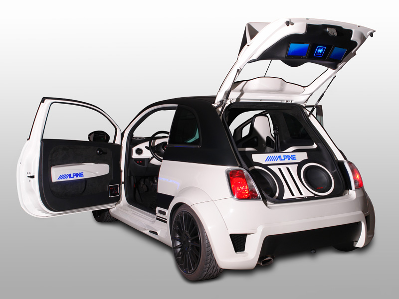 Alpine Fiat 500 Fun Europe
