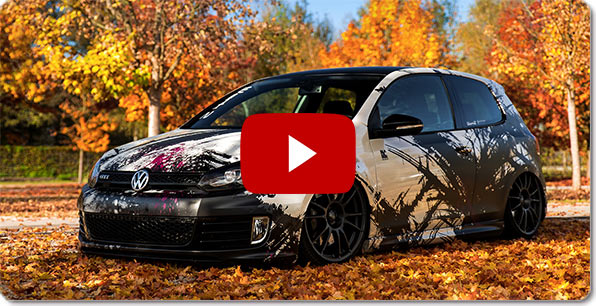 Navigazione Alpine Style per Volkswagen ( VW Golf 6 ) | Video